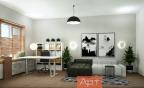 Дизайн-проект двухкомнатной квартиры м. Академическая