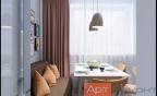 Дизайн-проект двухкомнатной квартиры ул. Борисовские Пруды