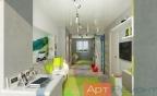 Дизайн-проект квартиры м.Бегова