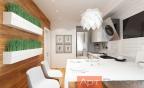 Дизайн-проект однокомнатной квартиры ул. Хорошевское шоссе