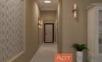 Дизайн-проект трехкомнатной квартиры м. Алтуфьево