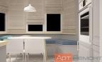 Дизайн-проект трехкомнатной квартиры мкр. Солнцево