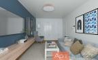 Дизайн четырехкомнатной квартиры 100 м2
