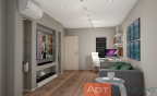 Дизайн двухкомнатной (хрущевки) квартиры (гостиная2)