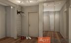 Дизайн двухкомнатной (хрущевки) квартиры (шкаф)