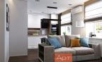 Дизайн двухкомнатной квартиры с перепланировкой2