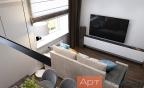 Дизайн двухкомнатной квартиры с перепланировкой3