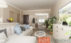 Дизайн проект квартиры-студии г. Королев