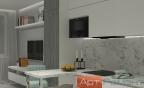 Дизайн студии 25 м2