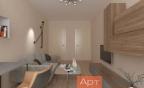 гостиная проект стиль минимализм
