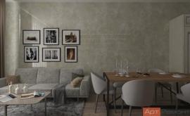 Дизайн-проект 4-комнатной квартиры м. Ленинский проспект