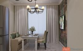 Дизайн-проект двухкомнатной квартиры г.Королёв