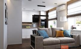 Дизайн двухкомнатной квартиры с перепланировкой new