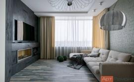Дизайн проект четырехкомнатной квартиры