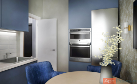 Дизайн проект двухкомнатной квартиры м. Семёновская
