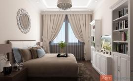 Дизайн проект двухкомнатной квартиры пос. Внуковское