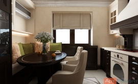 Ремонт четырехкомнатной квартиры по дизайн проекту м.Юго-Западная