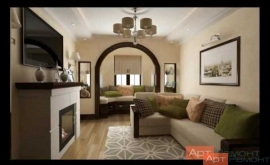 Embedded thumbnail for Ремонт четырехкомнатной квартиры по дизайн проекту м.Юго-Западная