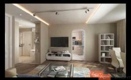 Embedded thumbnail for Ремонт двухкомнатной квартиры м.Беговая по дизайн-проекту