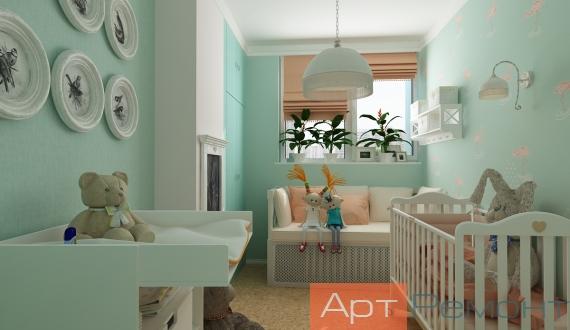 Дизайн детской проект 16