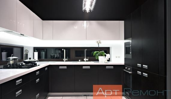 Дизайнерский ремонт однокомнатной квартиры фото 15