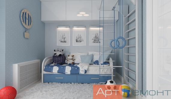 Дизайнерский ремонт однокомнатной квартиры фото 8