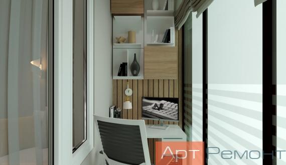Фото дизайна балкона 10