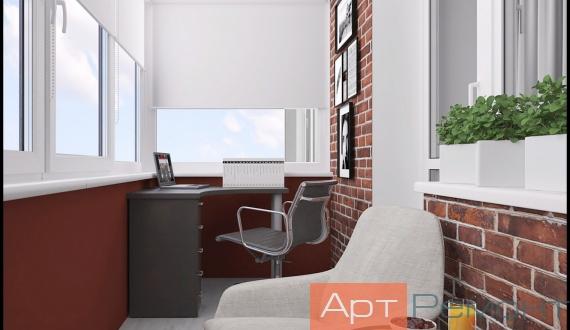 Фото дизайна балкона 3