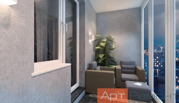 Фото дизайна балкона 4