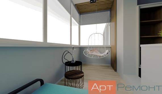 Фото дизайна балкона 7