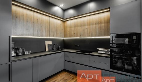 Ремонт трехкомнатной квартиры под ключ 9