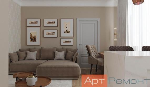 Заказать дизайн гостиной