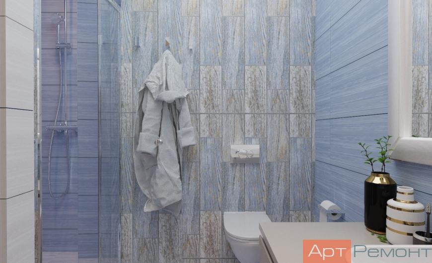 Дизайн-проект 2-комнатной квартиры ЖК Оранж Парк