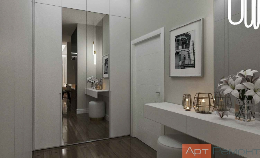 Дизайн-проект 2-комнатной квартиры м. Улица 1905 года