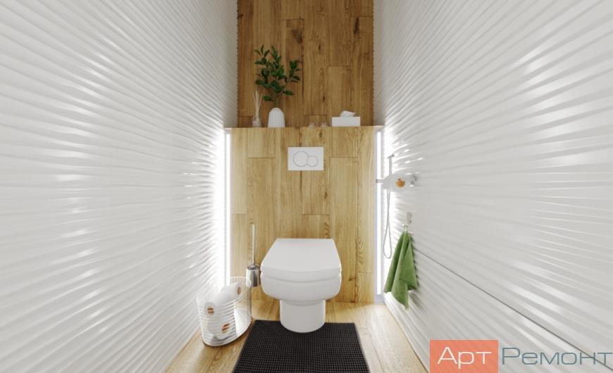 Дизайн-проект 3-комнатной квартиры м. Рассказовка