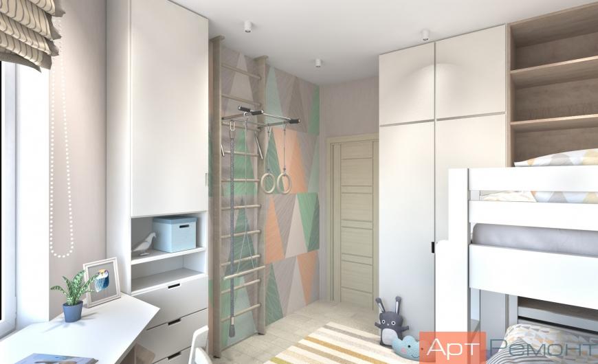 Дизайн-проект двухкомнатной квартиры г. Химки