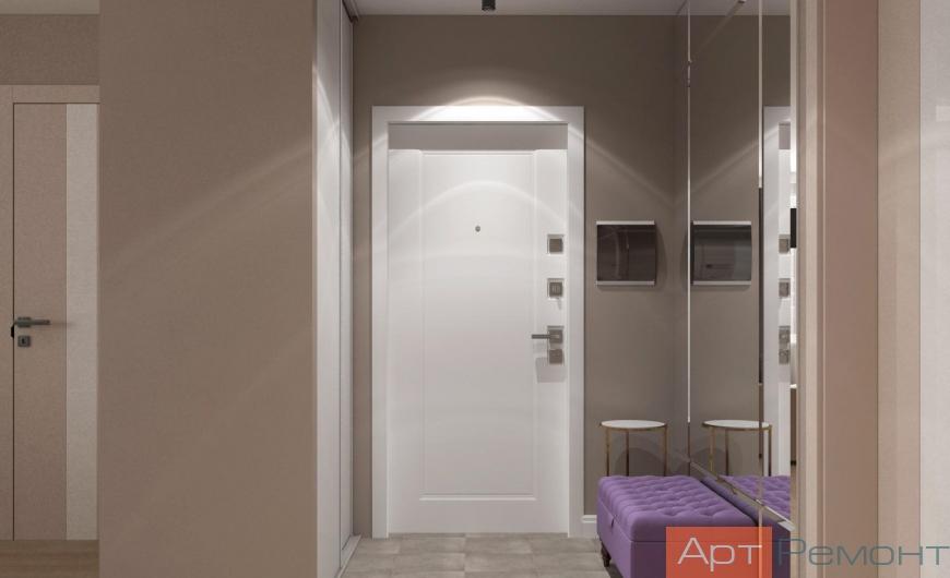 Дизайн-проект двухкомнатной квартиры г. Видное