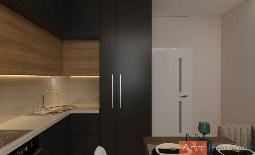 Дизайн-проект двухкомнатной квартиры г. Железнодорожный