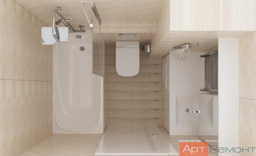 Дизайн-проект двухкомнатной квартиры м. Бабушкинская