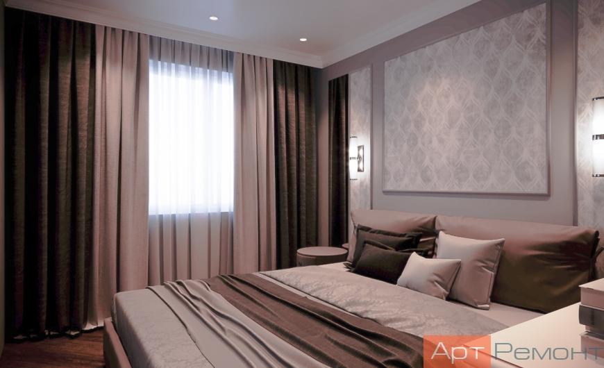 Дизайн-проект двухкомнатной квартиры м. Ховрино