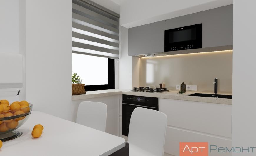 Дизайн-проект двухкомнатной квартиры м. Кожуховская