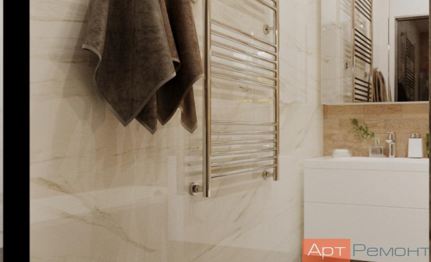 Дизайн-проект двухкомнатной квартиры м. Волоколамская