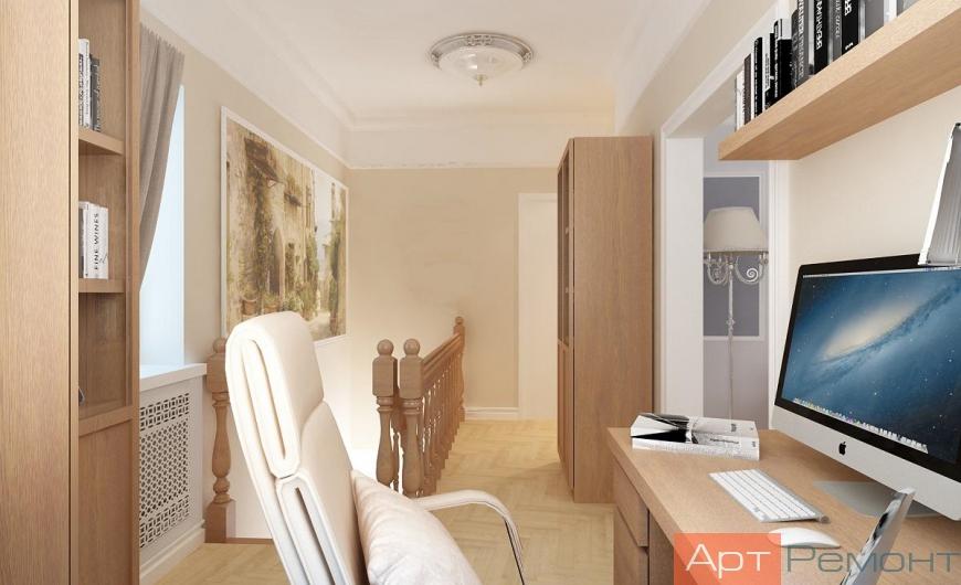 Дизайн-проект двухкомнатной квартиры пос. Северный
