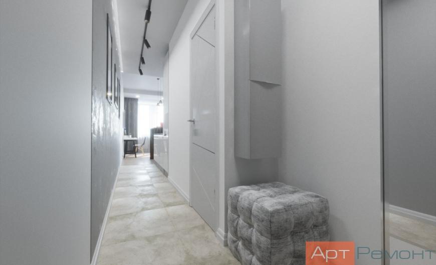 Дизайн-проект квартиры-студии м. Дмитровская
