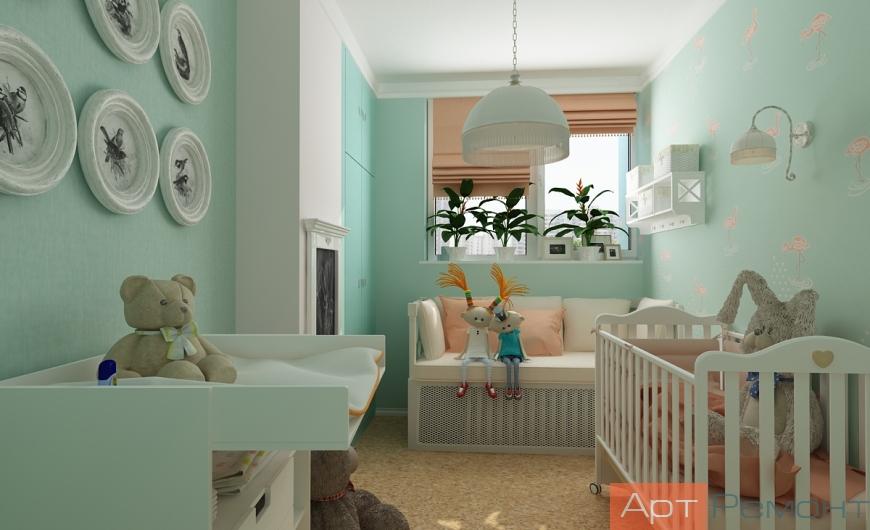 Дизайн-проект квартиры м. Чертановская