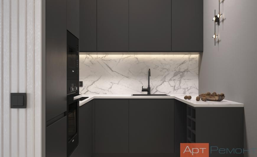 Дизайн апартаментов 50 м2