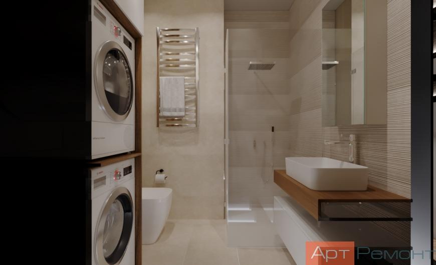 Дизайн двухкомнатной квартиры 70 м2