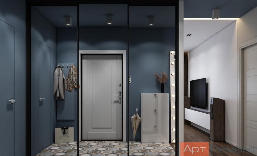 Дизайн двухкомнатной квартиры с перепланировкой10