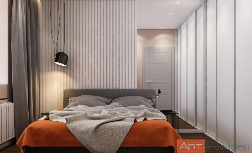 Дизайн двухкомнатной квартиры с перепланировкой5