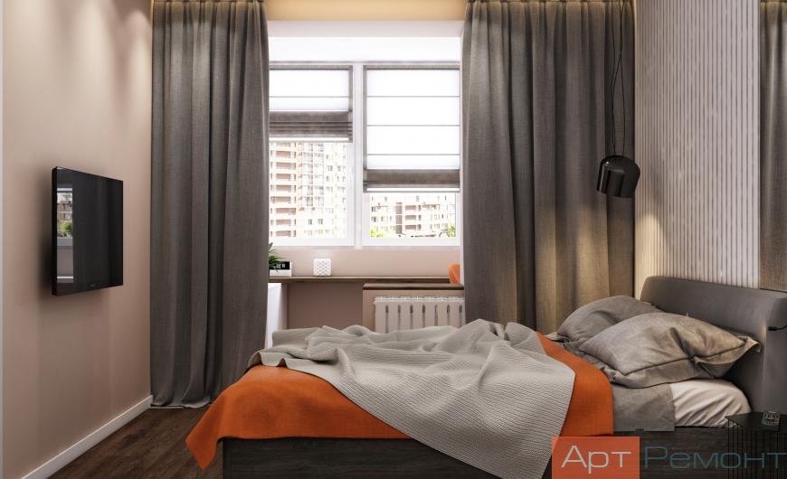 Дизайн двухкомнатной квартиры с перепланировкой6
